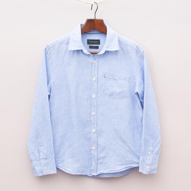 Academy Brand Linen Gingham Shirt