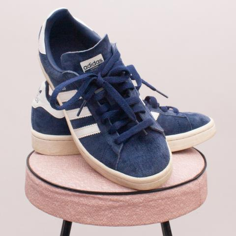 Adidas Suede Sneakers - UK 4 (Age 8 Approx.)