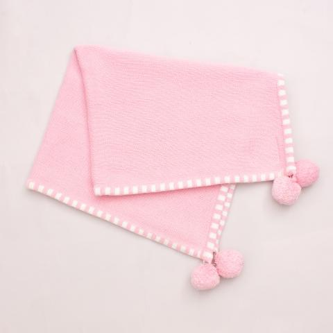 The Pink House & Co. Baby Blanket -  54cm x 70cm