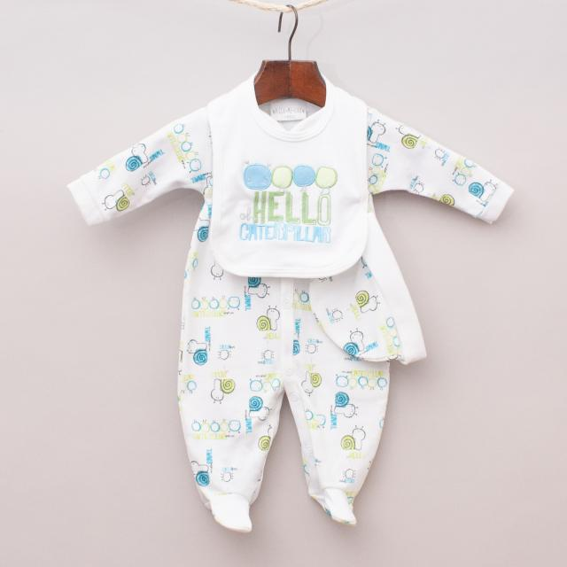 "Watch Me Grow Caterpillar Baby Set ""Brand New"""