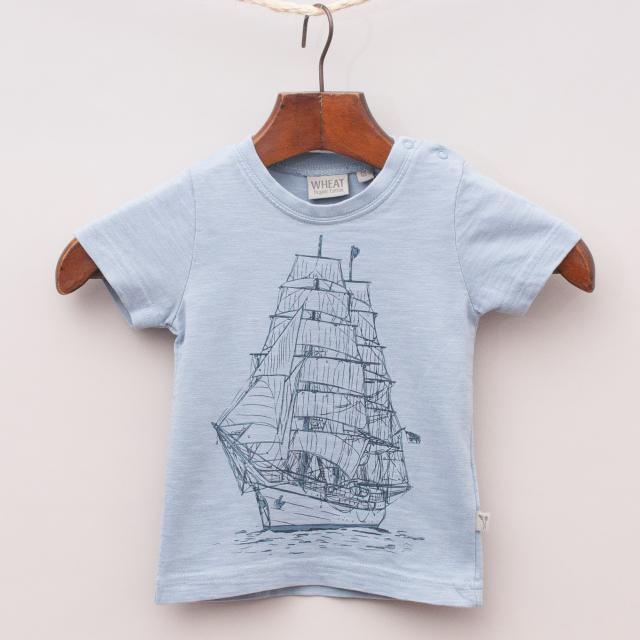 Wheat Organic Cotton T-Shirt