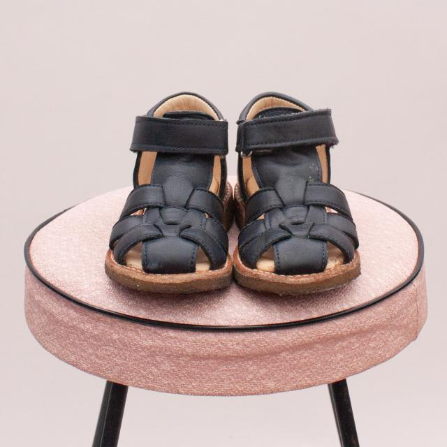 Angulus Leather Sandals - EU 21 (Age 0-12Mths Approx.)