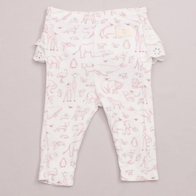 Purebaby Animal Pants