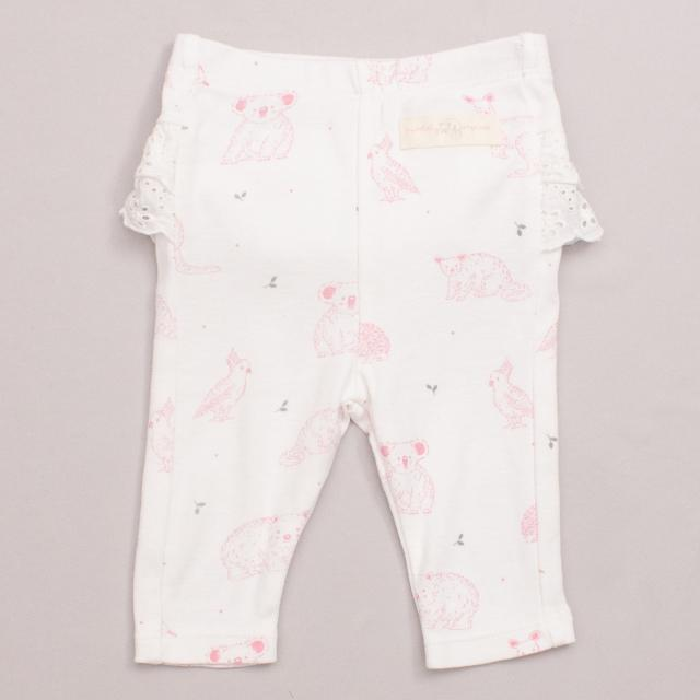 Purebaby Australian Animal Pants