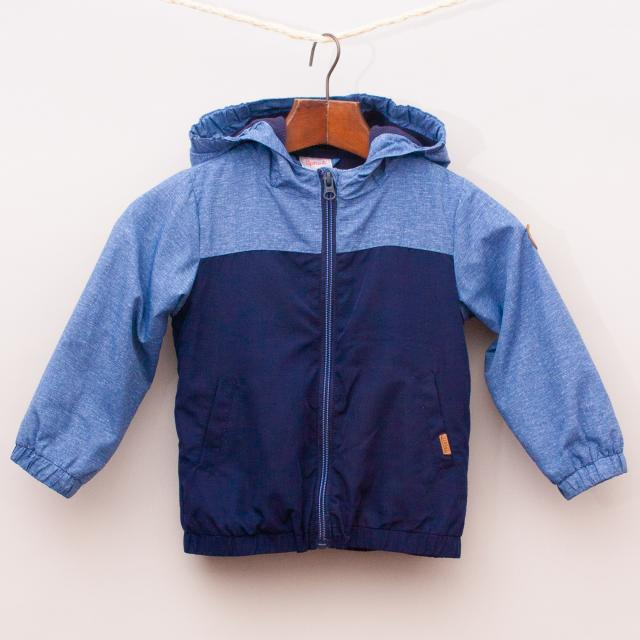 Sprout Blue Hooded Jacket