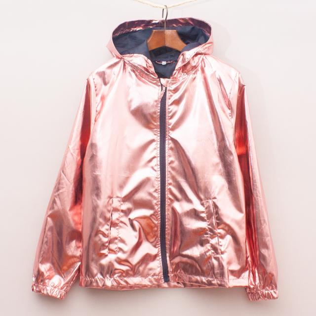 Rose Gold Metallic Jacket