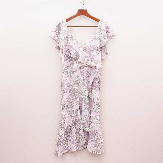 Bardot Pastel Floral Dress