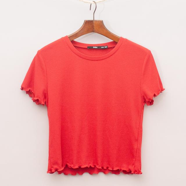 Sportsgirl Ribbed T-Shirt
