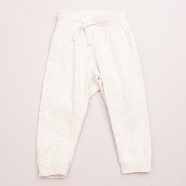H&M Oatmeal Tracksuit Pants