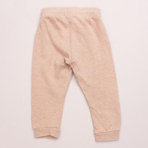 H&M Light Brown Tracksuit Pants