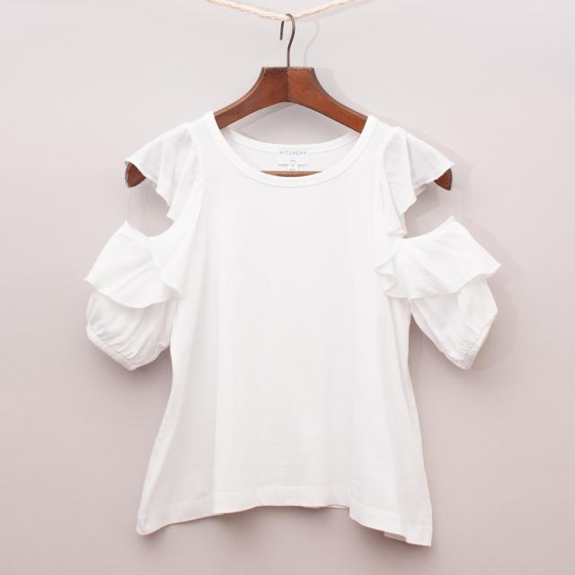 Witchery Ruffle Top