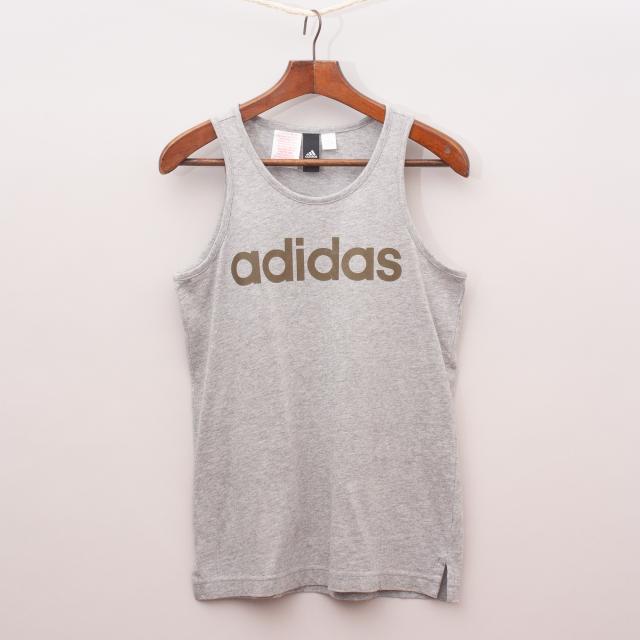 Adidas Grey Singlet