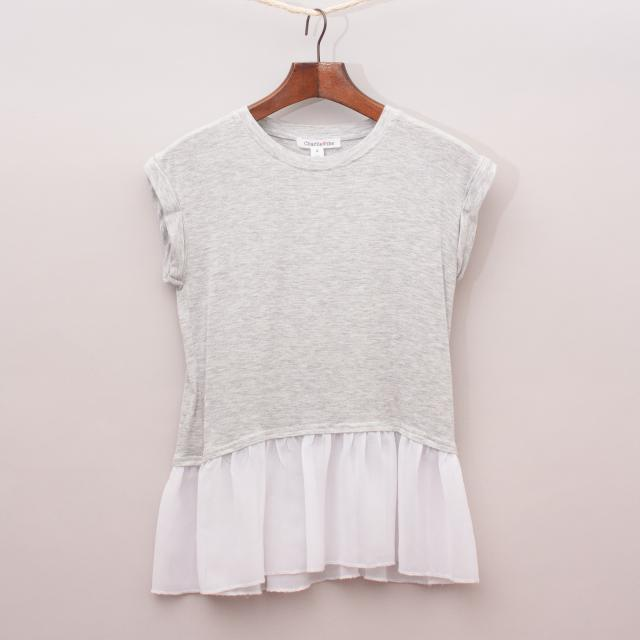 Charlie & Me Contrasting Top