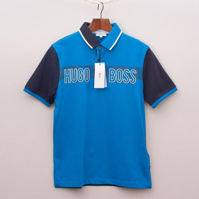 "Hugo Boss Blue Polo Shirt ""Brand New"""