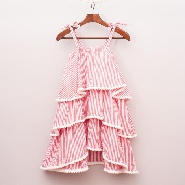 Seed Striped Layer Dress