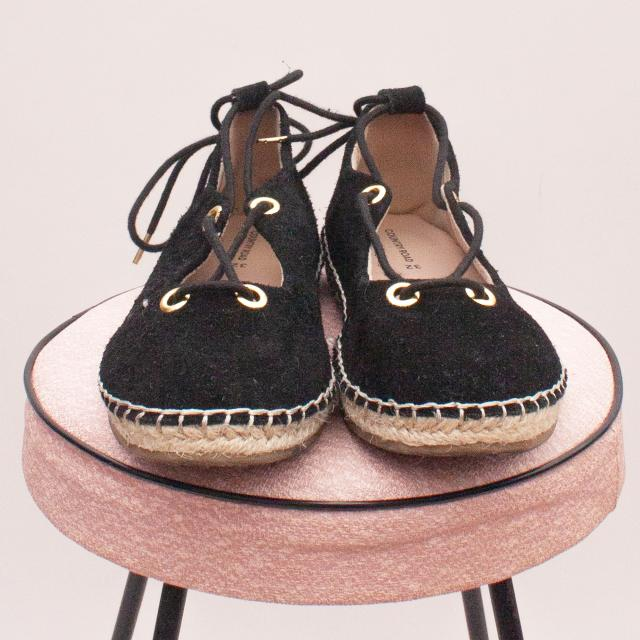 Country Road Suede Espadrilles - EU 32 (Age 6-8 Approx.)