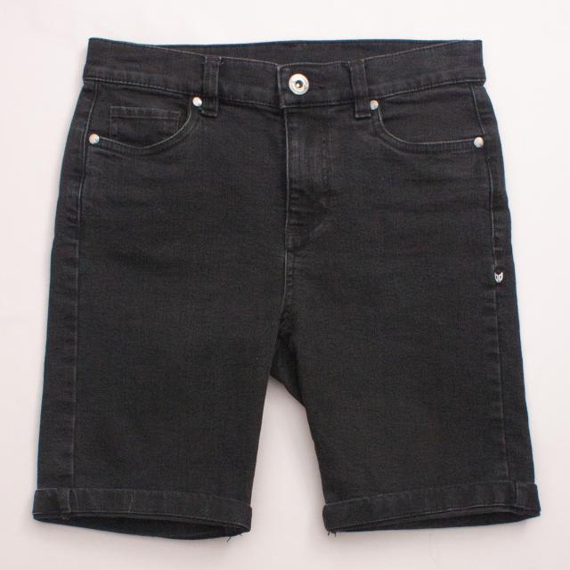 Bauhaus Denim Shorts