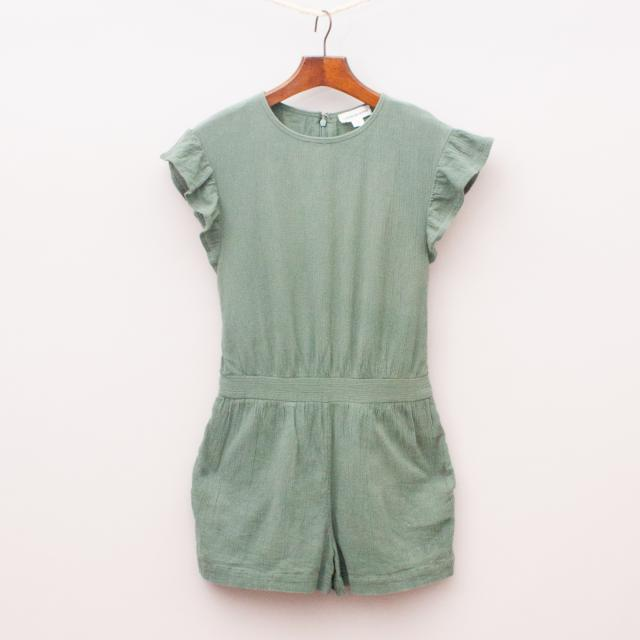 Country Road Khaki Playsuit