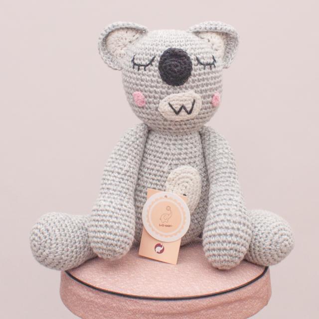 "I+U Baby Knitted Koala ""Brand New"""