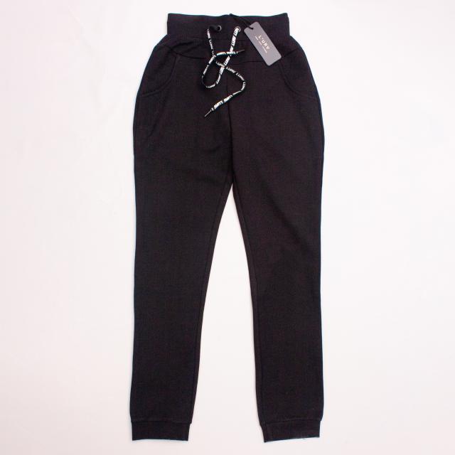"L'Urv Black Tracksuit Pants ""Brand New"""
