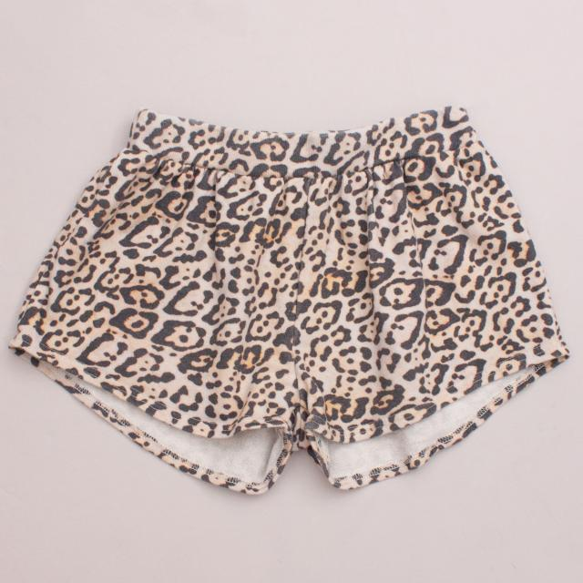 Seed Leopard Shorts