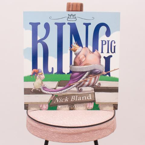 "King Pig Children's Book ""Brand New"""