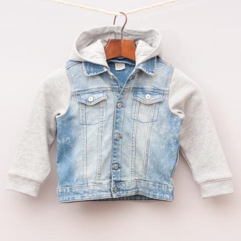 H&M Contrasting Denim Jacket