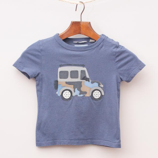 Country Road Jeep T-Shirt