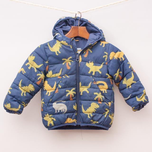 Zara Dinosaur Hooded Jacket