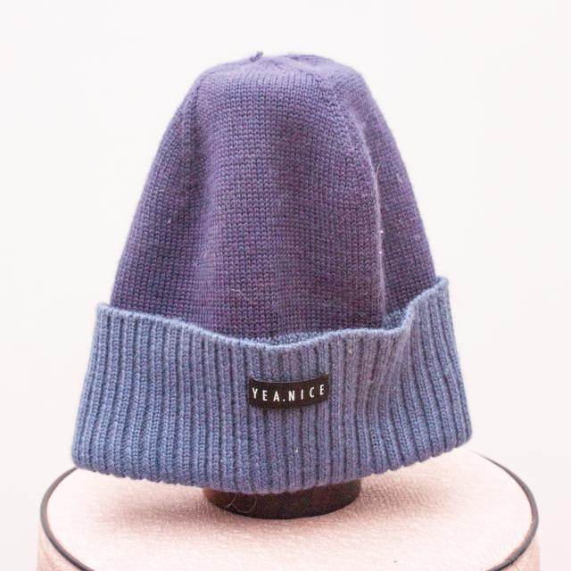 Yea.Nice Blue Beanie - 40cm Approx.