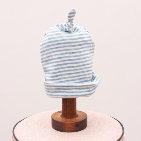 Ricochet Striped Baby Hat - 0-6Mths