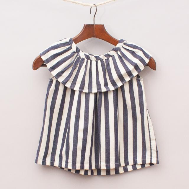 Country Road Striped Top