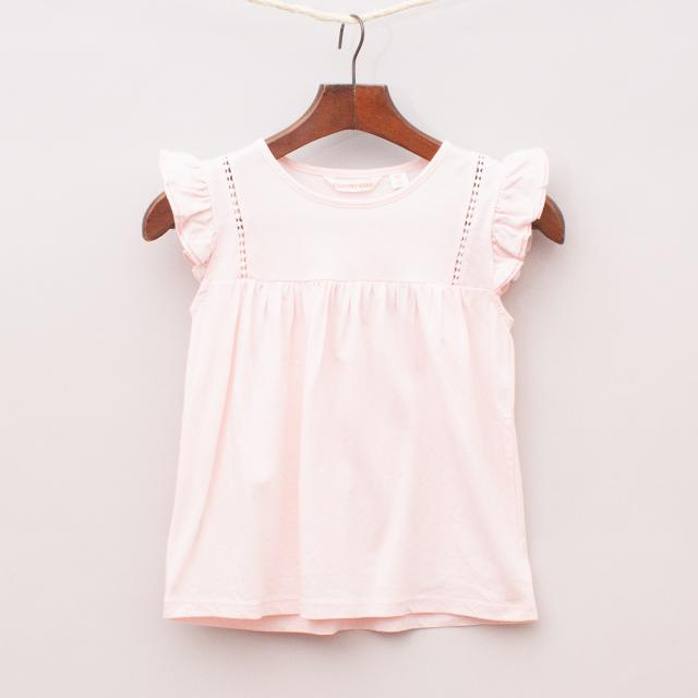 Country Road Ruffle Top