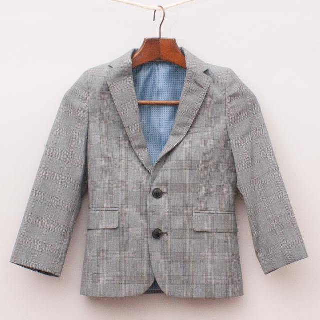 M&S Plaid Blazer