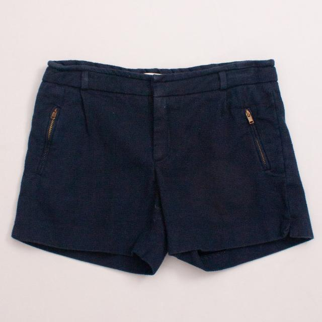 Zara Blue Shorts
