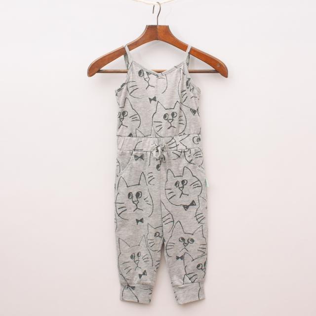 Minti Cat Playsuit