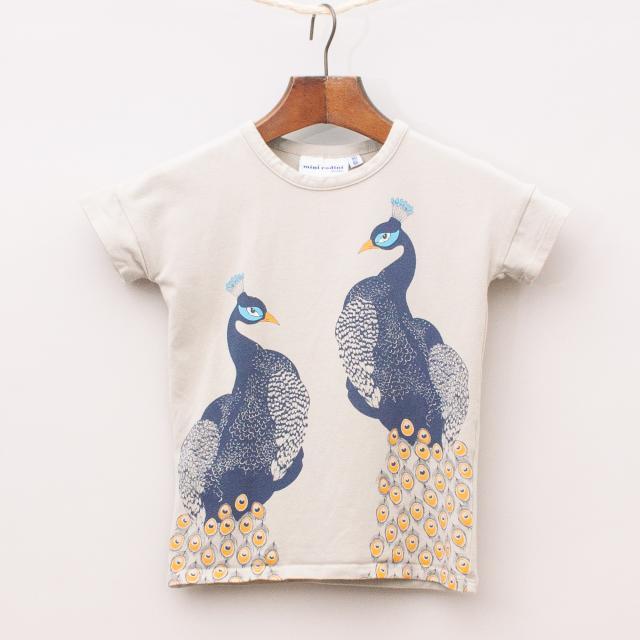 Mini Rodini Peacock T-Shirt