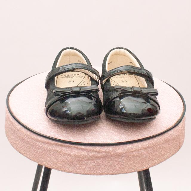 Pediped Black Patent Shoes - EU 23 (0-12Mths Approx.)
