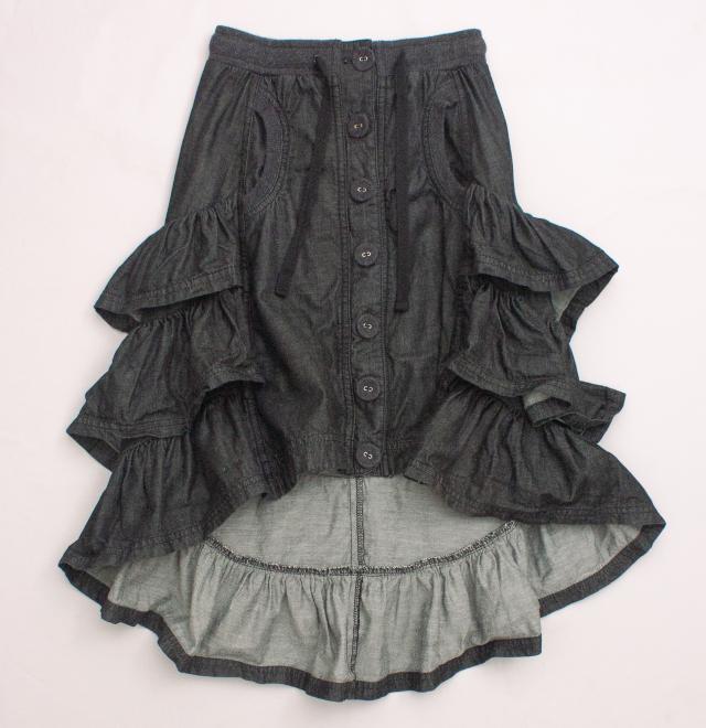 Paper Wings Ruffle Skirt