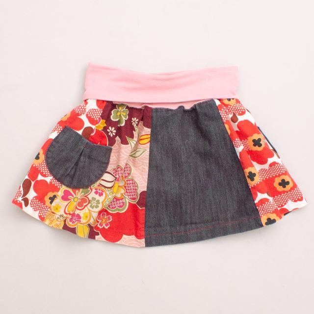 Oishi Floral Skirt