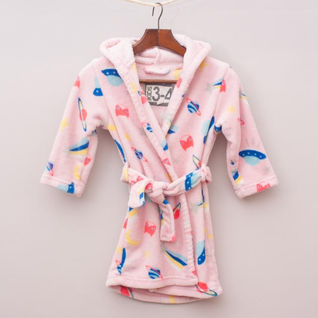 Cotton On Dressing Gown - Size 3-4