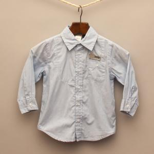 Blue Pin Stripe Shirt