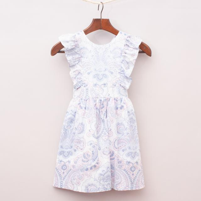 Country Road Ruffle Dress