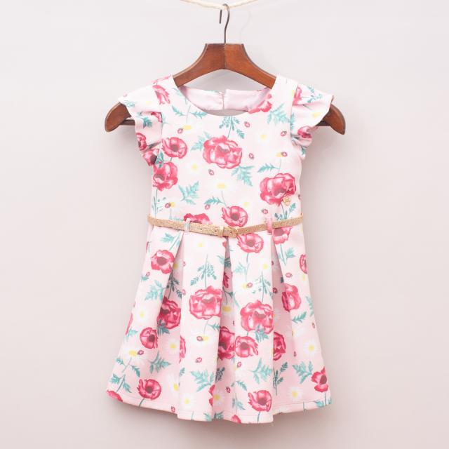 Tutu's & Tambourines Rose Dress