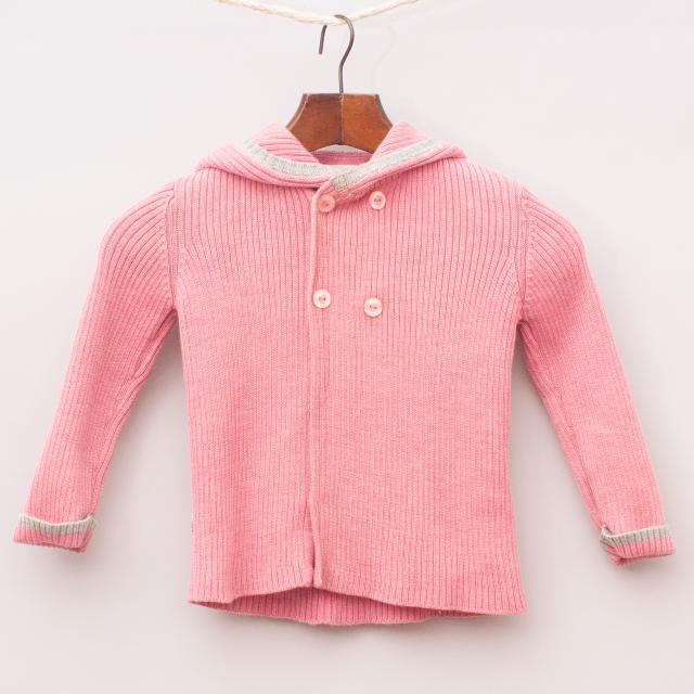 Merino Kids Pink Jumper