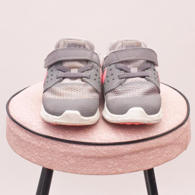Nike Grey Sneakers - EU 23.5 (Age 0-18Mths Approx.)