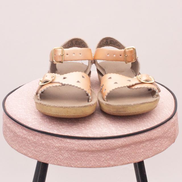 Sun San Metallic Sandals - EU 28 (Age 4 Approx.)