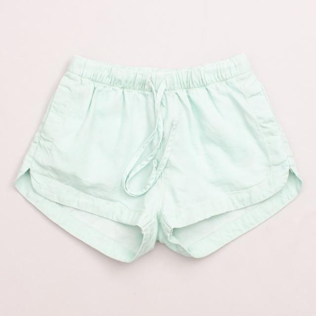 Paper Wings Spearmint Shorts
