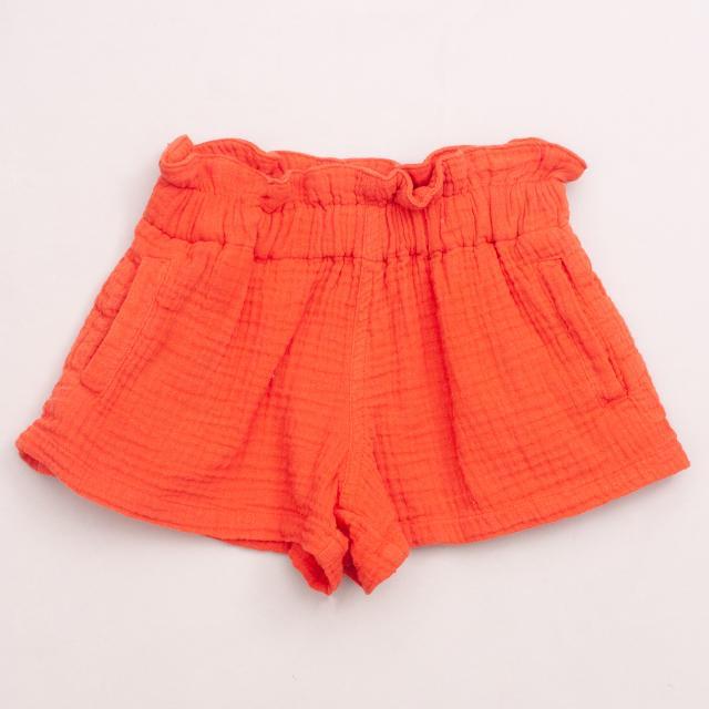 Seed Orange Shorts