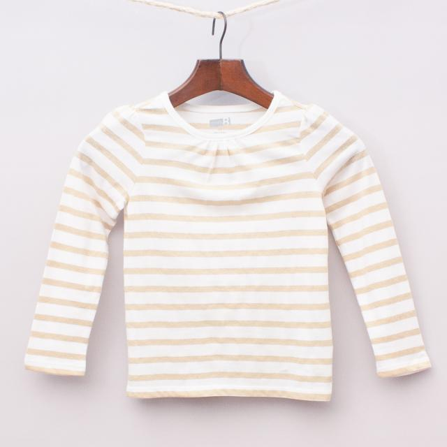 Crazy8 Striped Long Sleeve